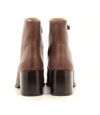 Bottines à lacets en cuir camel Chie Mihara - OR-ORMAST TERRA