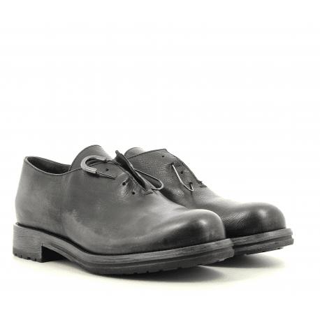 Derbies en cuir noir garrice fru.it - 5613