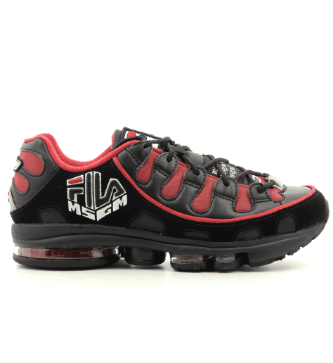 Sneakers noires MSGM X FILA Silva for men - MSGM