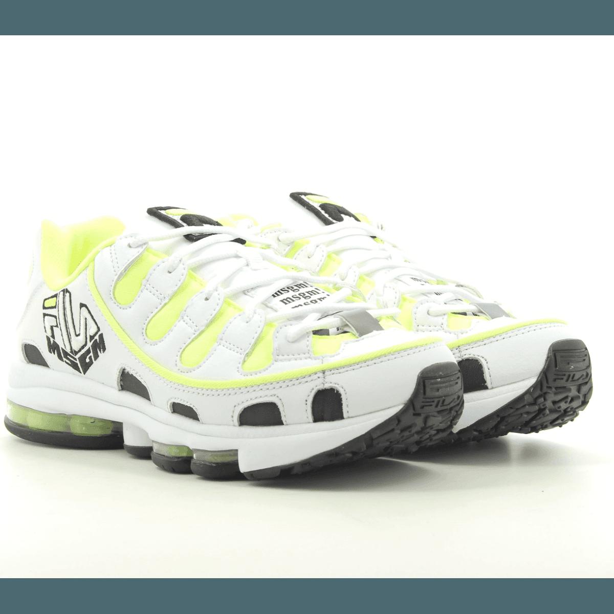 Sneakers blanches MSGM X FILA Silva for men - MSGM