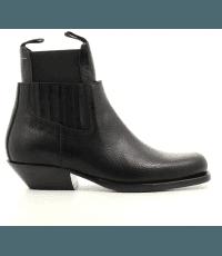 Boots en cuir noire  S59WU0093N - MM6 Martin Margiela