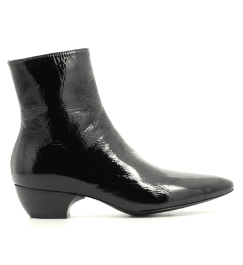 Bottines pointues en cuir verni Premiata - M5411