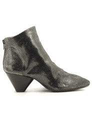 Bottines en cuir métallisée Sélection Garrice collection - AI19130
