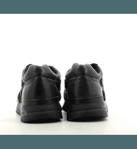 Sneakers homme en cuir noir MICK 1453 - Premiata
