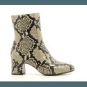 Boots à talons moyens en cuir façon serpent Chie Mihara - NA-NAYLON