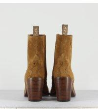 SARTORE - Bottines en daim Camel SR3265C