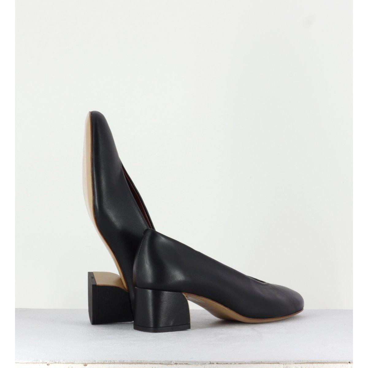 Escarpins à talons noir ROPE N2N- Avril Gau