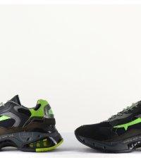 Sneakers homme en cuir noir SHARKY 014 - Premiata
