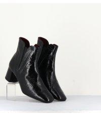 Bottines en cuir vernis noir  TASIC Naplak- Avril Gau