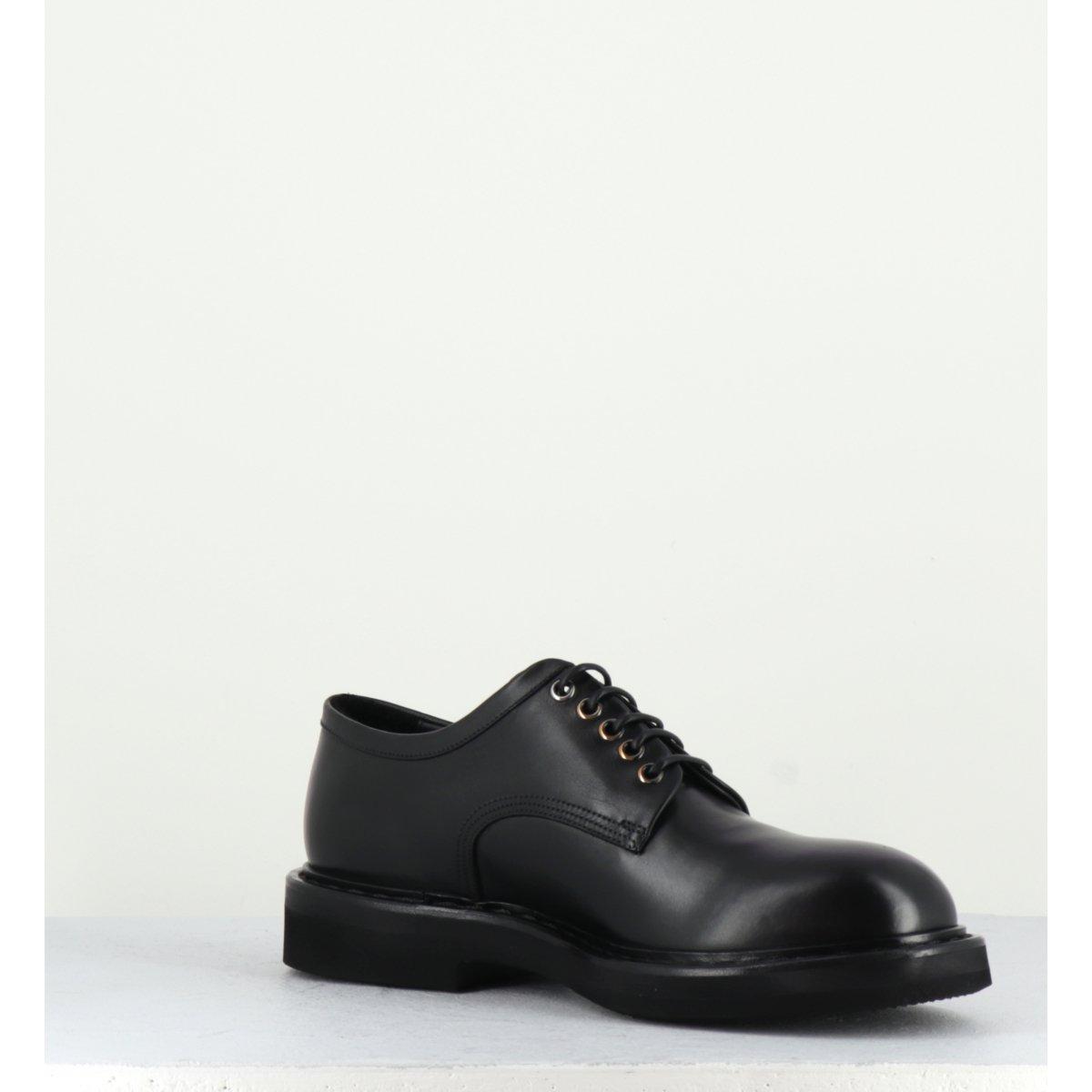 Chaussure en cuir noir homme 31355 - PREMIATA