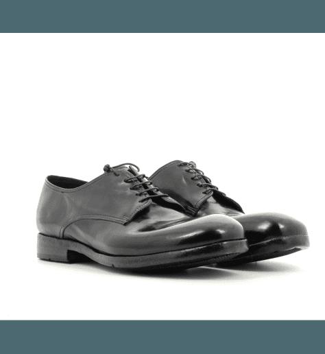 DerbiesHomme à lacets cuir noir AN04A1 - Lemargo
