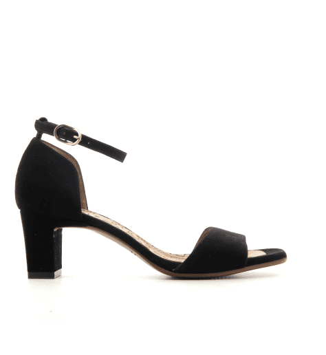 Sandales à petits talons noir Chie Mihara - LUSAKA