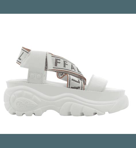 Sandales à semelles épaisses blanches Buffalo London - BO BLANCO