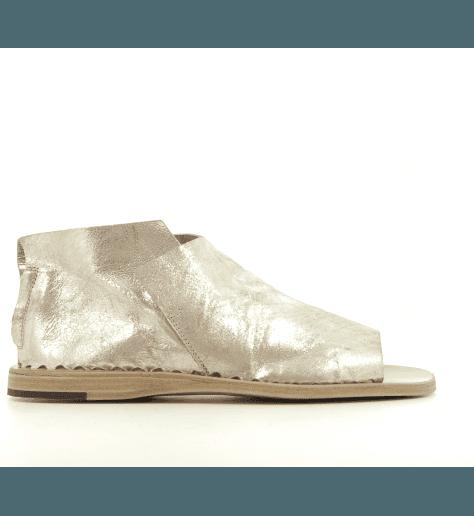 Sandales en cuir doré vieilli Officine Creative - ITACA 005OR