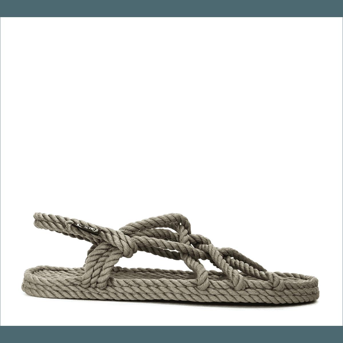 Sandales vegan en corde Nomadic State of Mind - JC SANDALS GREEN