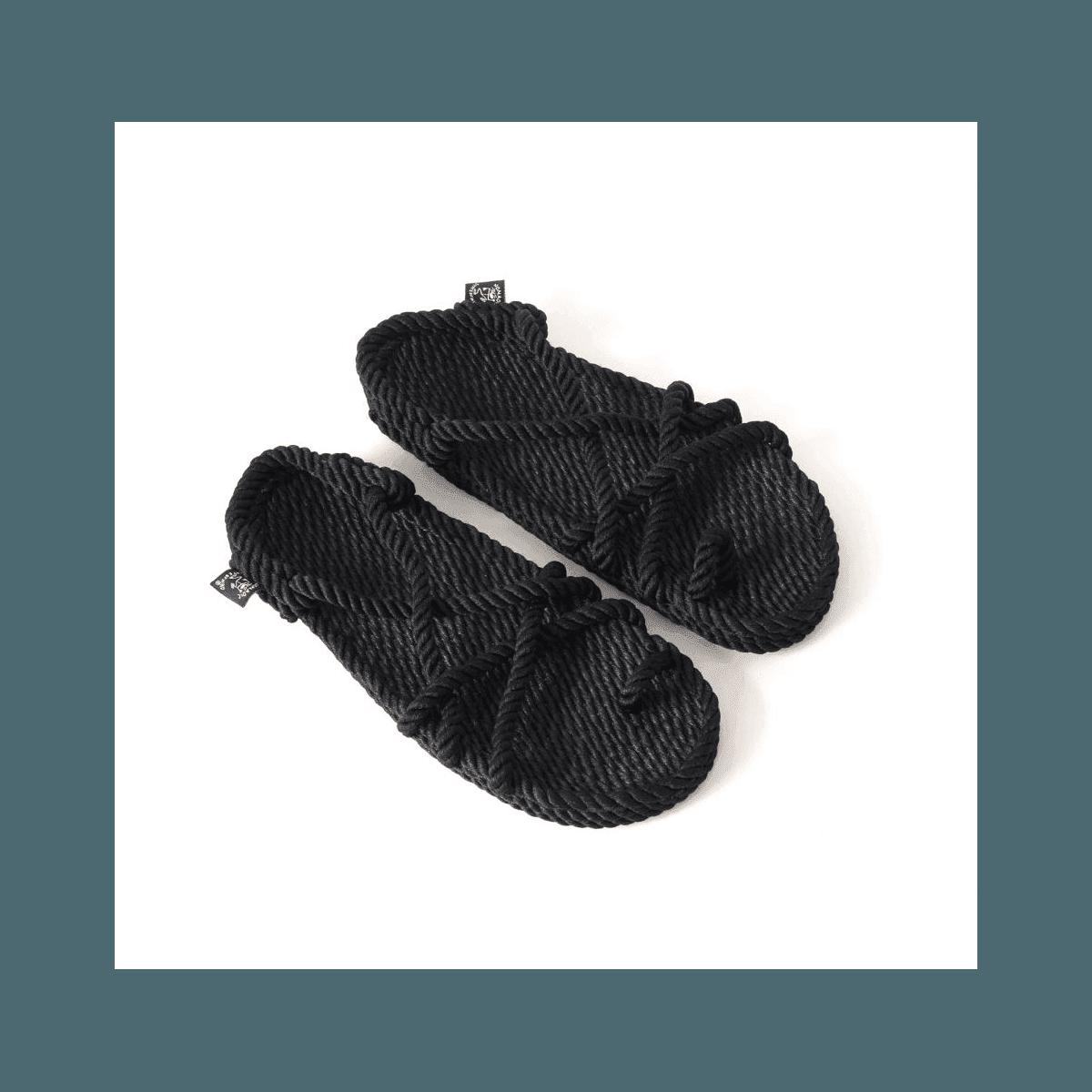 Sandales vegan en corde Nomadic State of Mind - TOE JOE BLACK